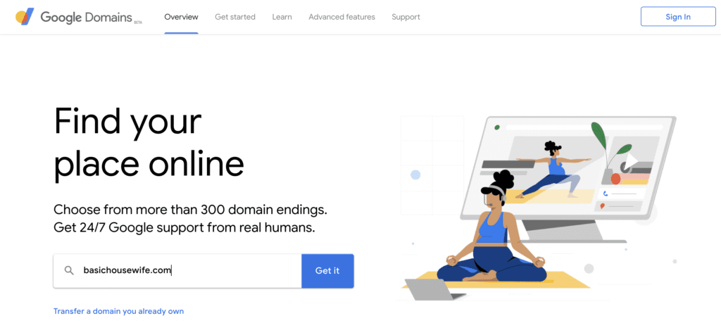 Google Domains | How to Start A Blog in 5 Easy Steps