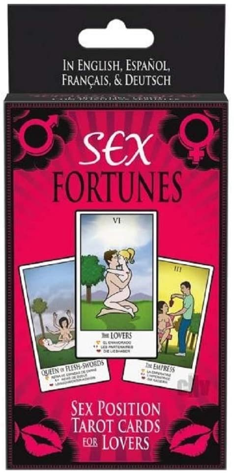 Sex Fortune Tarot Cards   Naughty Valentines Day Gifts