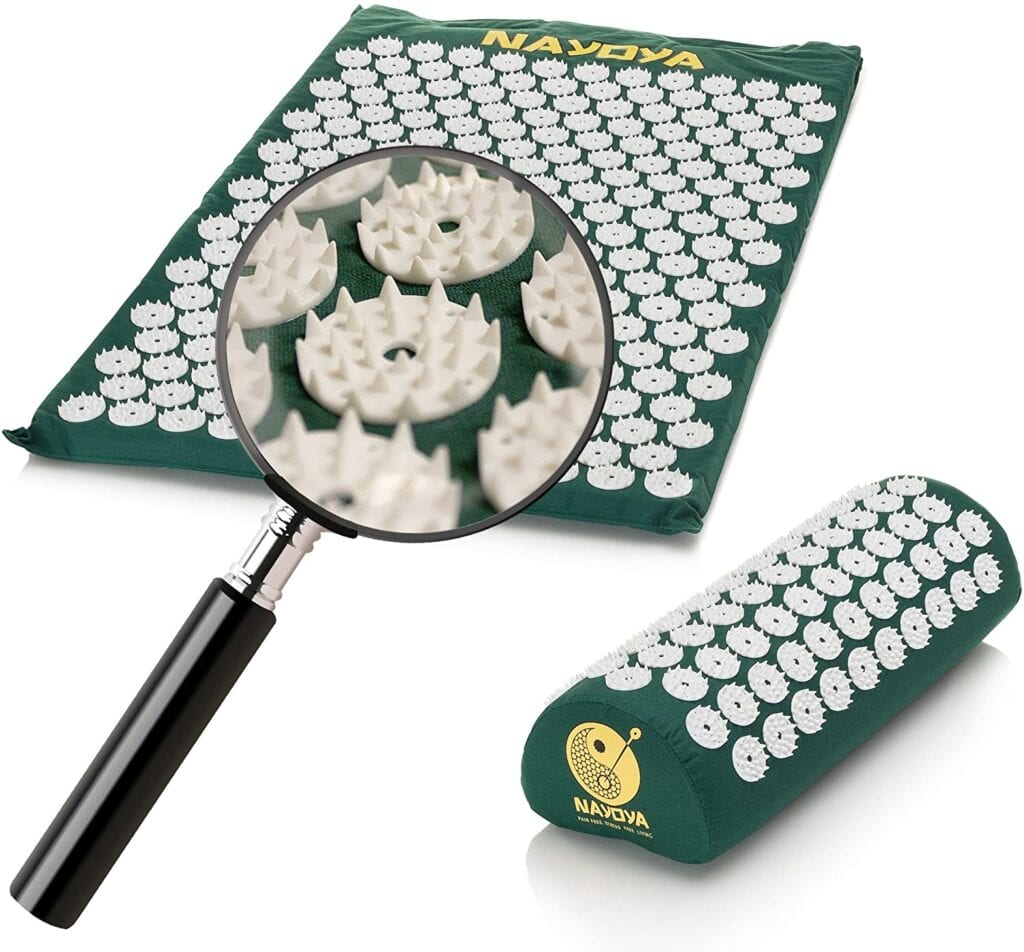 An Acupressure Mat to Help Relieve Muscle Tension and Stress