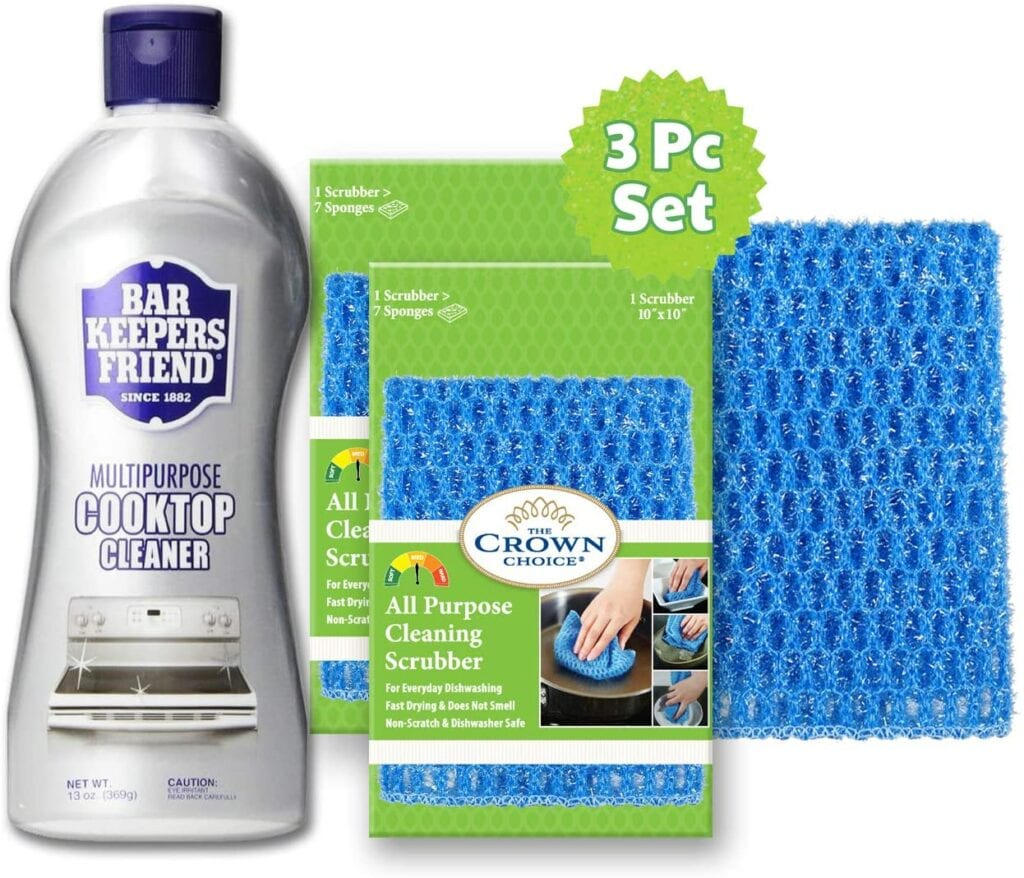 Bar Keeper's Friend Cooktop Cleaner | Must-Have Cleaning Products to Tidy Up Your Home