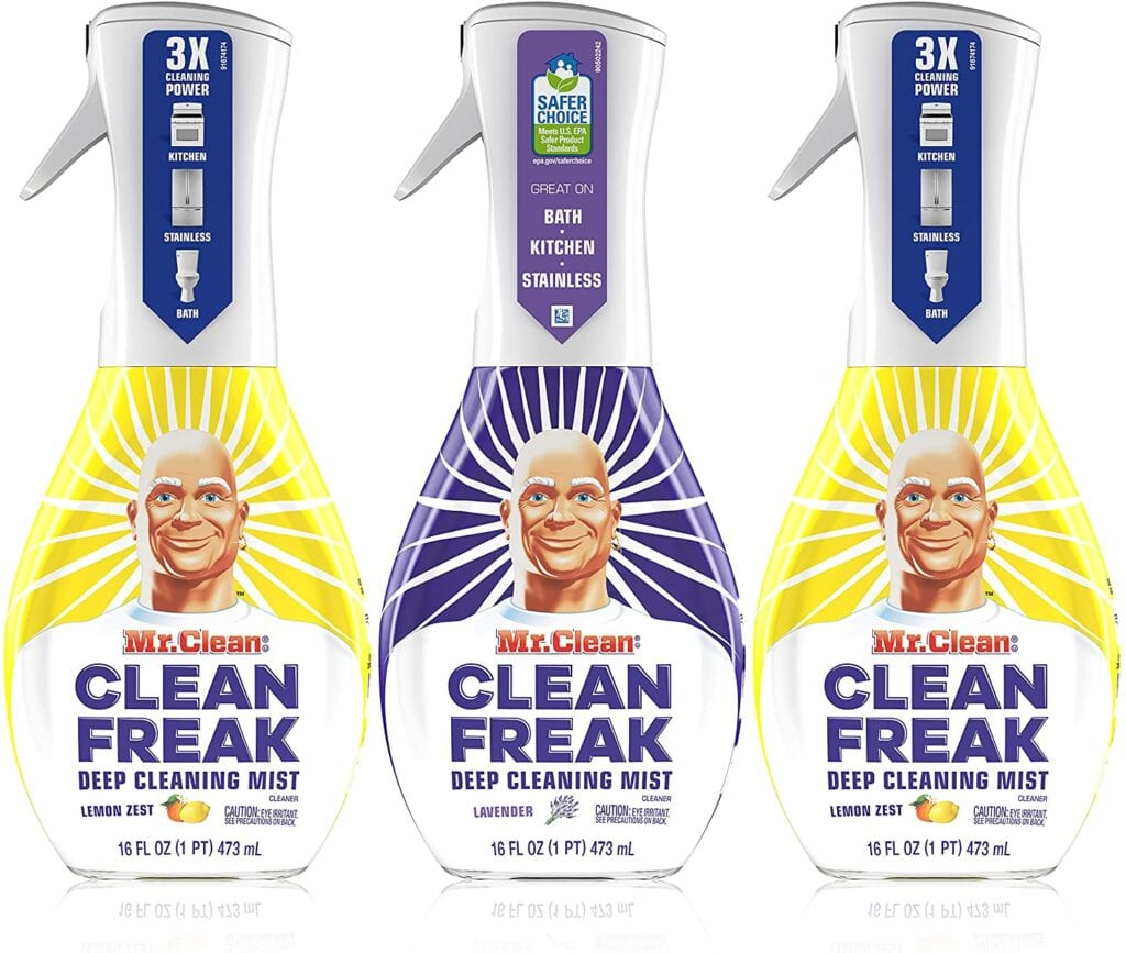Mr. Clean, Clean Freak Deep Cleaning Mist | Must-Have Cleaning Products to Tidy Up Your Home