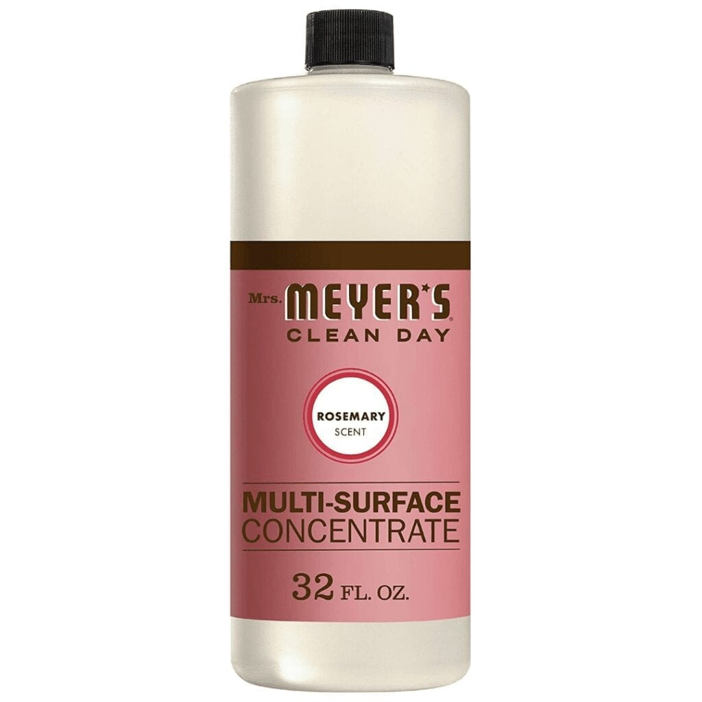 Mrs. Meyers Multi-Surface Cleaner Concentrate | Must-Have Cleaning Products to Tidy Up Your Home