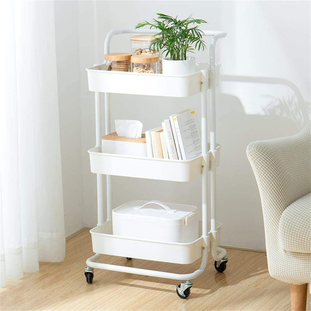 Cloffice Decor Ideas: A Rolling Cart for your closet office storage