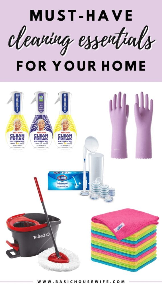 Looking for the best cleaning products and equipment for your spring cleaning needs? Check out this list of must-have cleaning essentials for a tidier home!