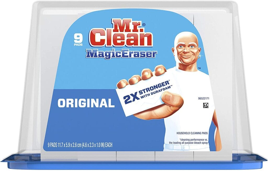 Mr. Clean Magic Erasers | Must-Have Cleaning Supplies to Tidy Up Your Home