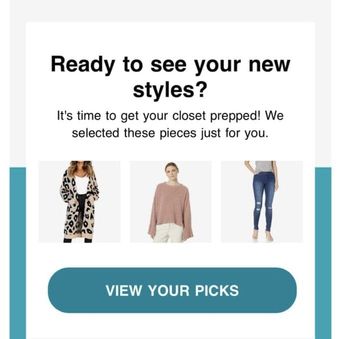 Personal Styling by Amazon Prime