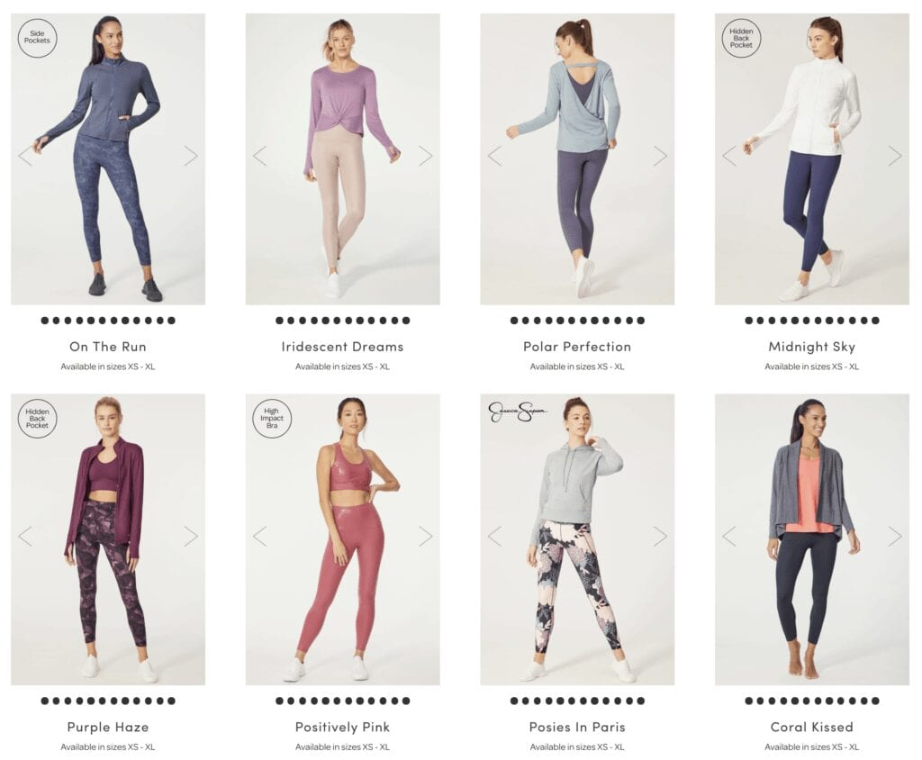 Ellie Activewear and Loungewear Subscription Box for Women's Clothes