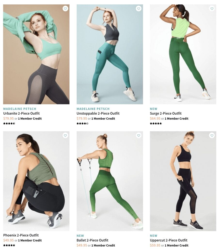 Fabletics Activewear Subscription Box for Women's Clothes