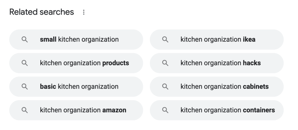 Using Google's Related Searches to Come Up With New Blog Topics