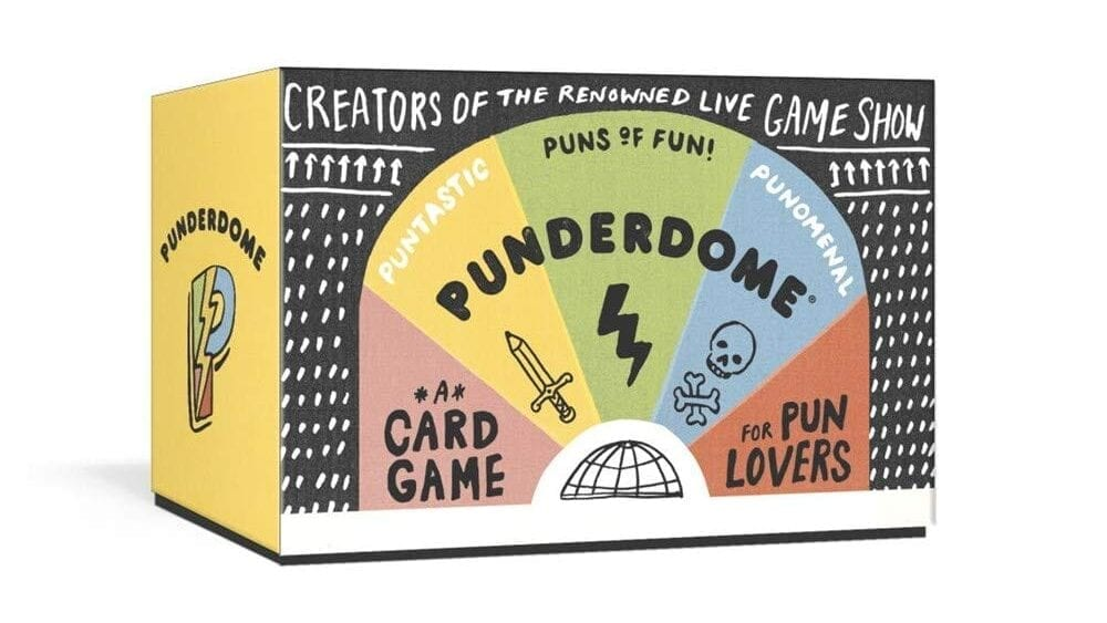 Punderdome Card Game for Pun Lovers   Gift Ideas for Teachers That They'll Actually Want