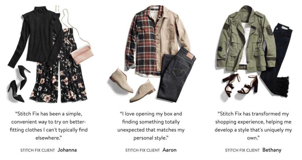 Stitch Fix Monthly Personal Styling Service for Women