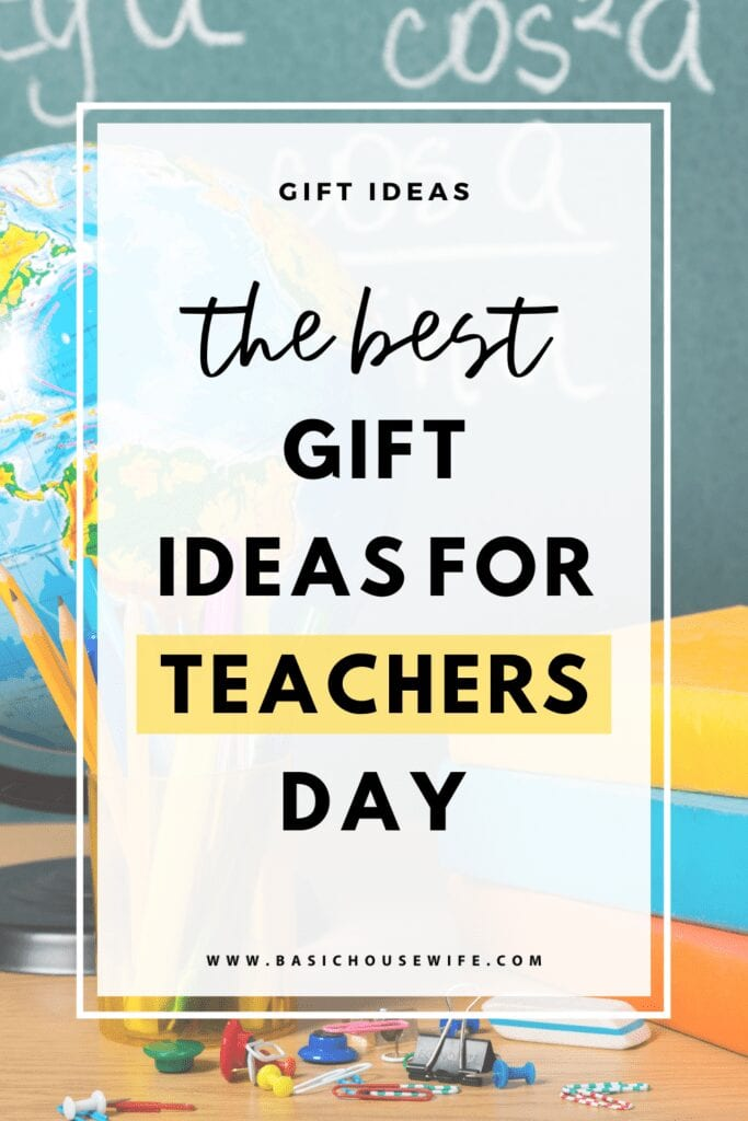 The Best Teachers Day Gift Ideas That They'll Actually Want