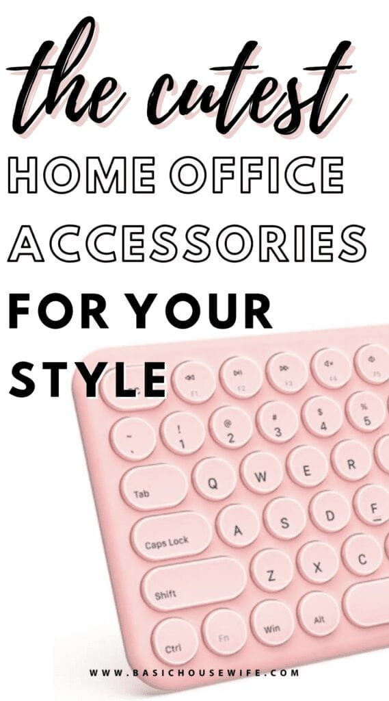 The Cutest Home Office Accessories for Your Style