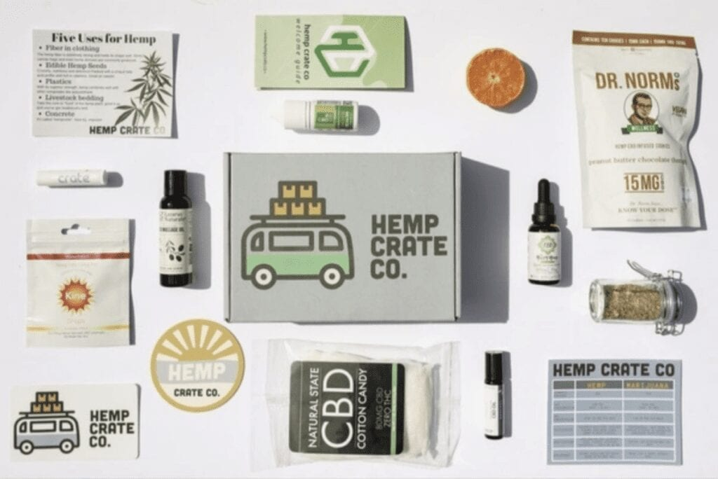 Hemp Crate Co   The Best Self Care Subscription Boxes with CBD Products
