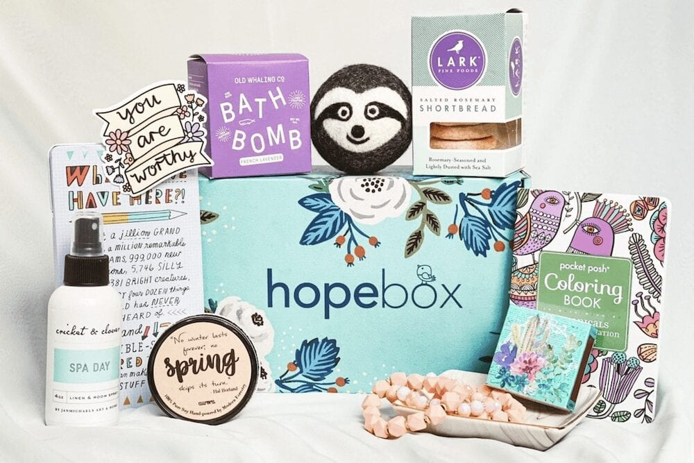 Hopebox   The Best Self Care Subscription Boxes to Treat Yourself To