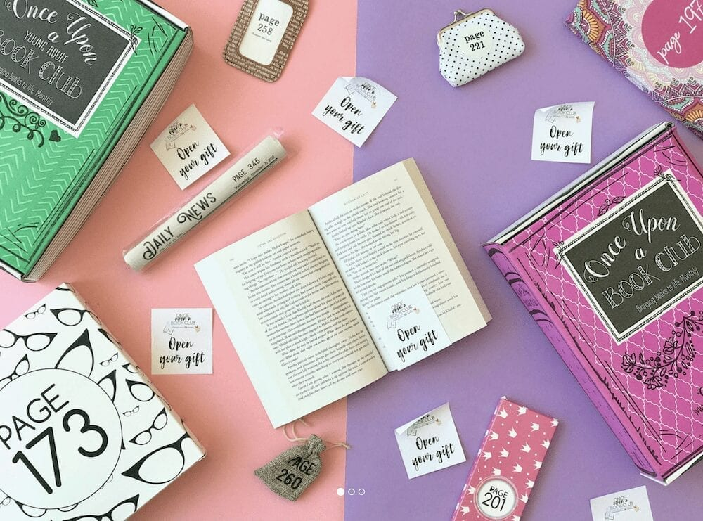 Once Upon a Book Club   The Best Self Care Subscription Boxes for Book Lovers