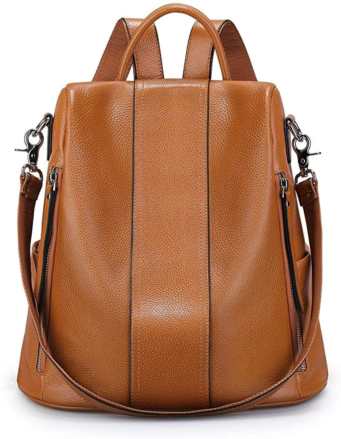 Camel Brown Backpack | Casual Backpacks for Women From Amazon