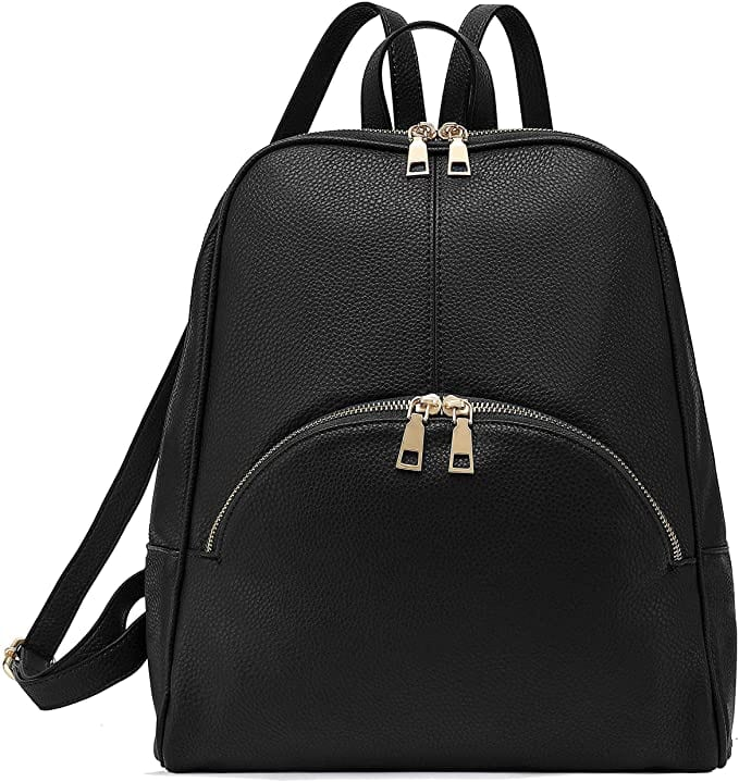 Black Fashion Backpack | The Best Casual Backpacks for Women From Amazon