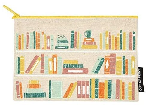 Book-Themed Zipper Pouch   Gifts for Book Lovers: The Ultimate Guide