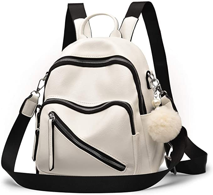 Mini Black & White Backpack  | Casual Backpacks for Women From Amazon