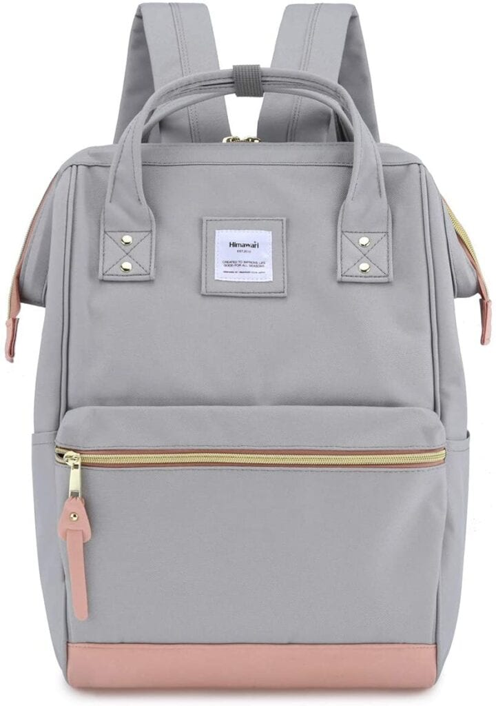 Gray Travel Backpack | The Best Backpacks for Women From Amazon