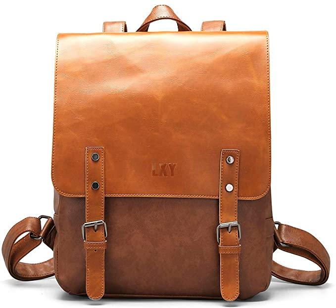 Brown Leather Backpack | The Best Fashion Backpacks for Women From Amazon