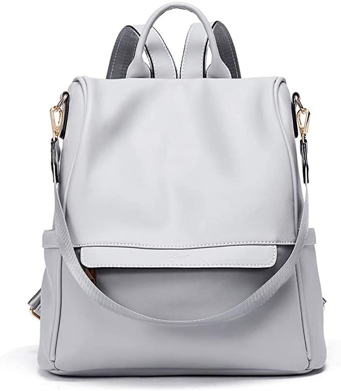 Gray Backpack  | Cute Backpacks for Women From Amazon