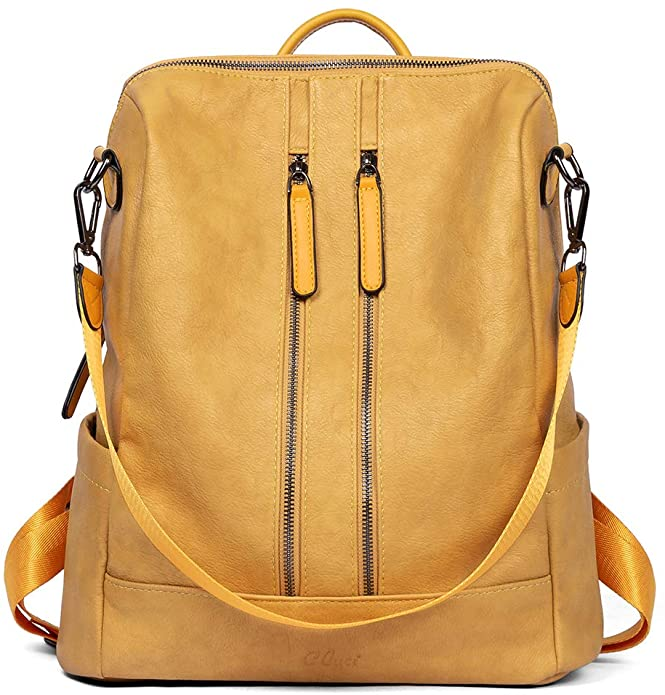 Yellow Backpack | The Best Backpacks for Women From Amazon
