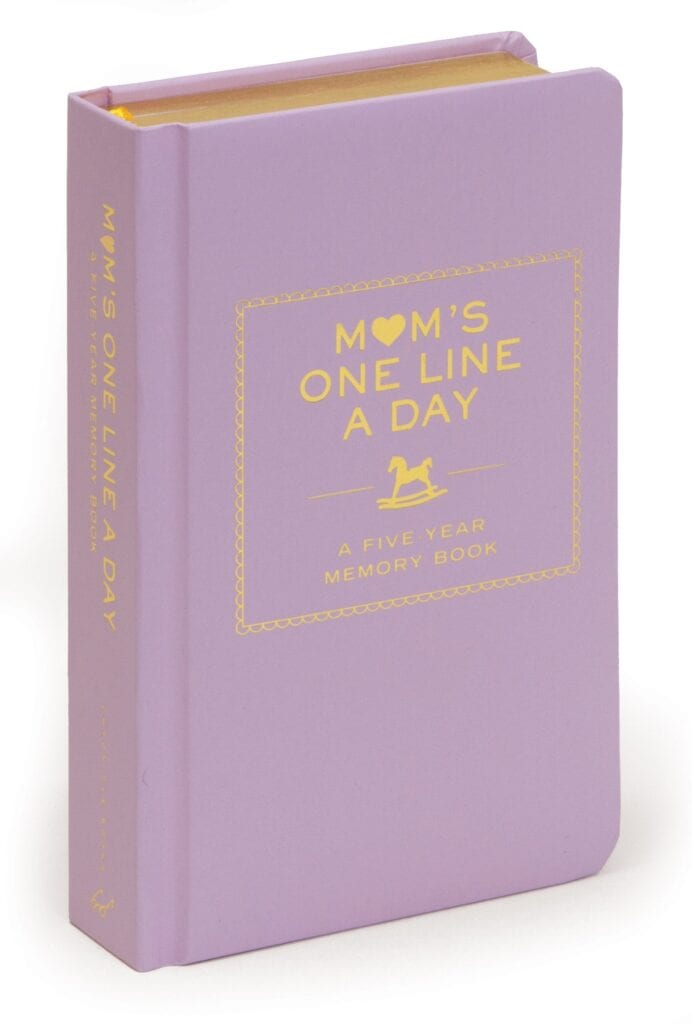 One Line a Day Daily Journal for Moms   Gift Ideas for Moms