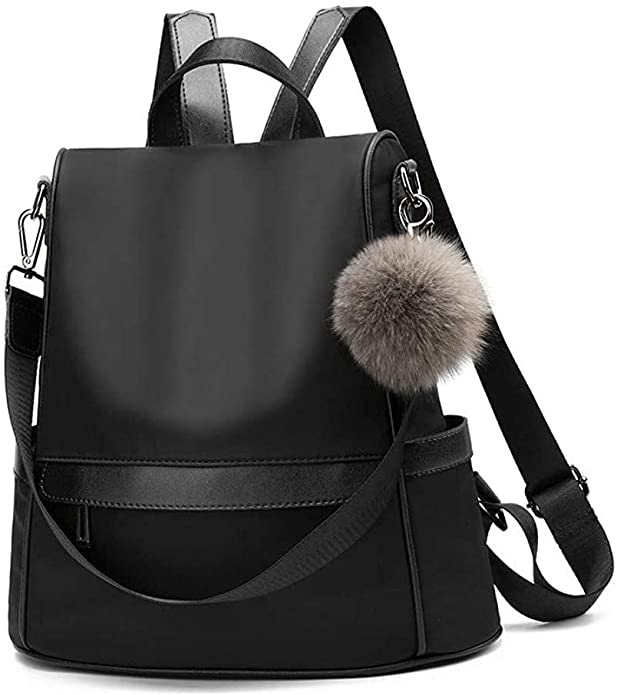 Black Fashion Backpack | Casual Backpacks for Women From Amazon