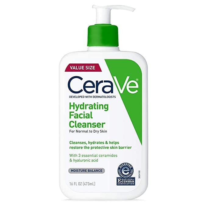 CeraVe Hydrating Facial Cleanser   Best-Selling Facial Cleansers on Amazon