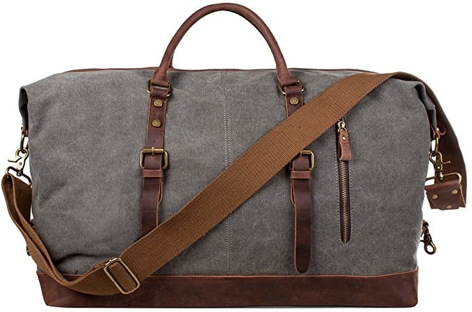 Oversized Canvas Tote Duffle Bag   50+ Gifts for Dads Who Have Everything   Gift Ideas for Dad Under $50