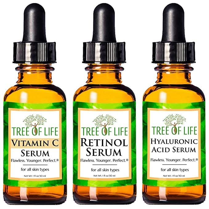 Anti-Aging Serum Trio   Best-Selling Face Serums on Amazon