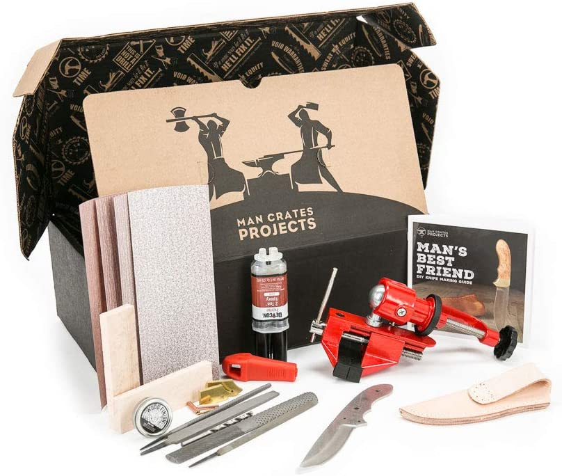 Knife Making Kit   50+ Gifts for Dads Who Have Everything   Gift Ideas for Dad Under $200