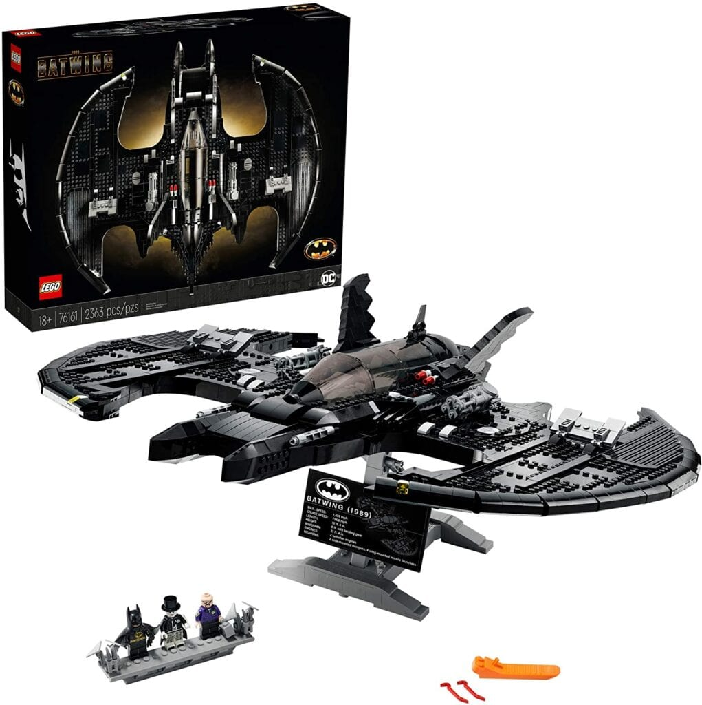 LEGO Batman Batwing Model Display   50+ Gifts for Dads Who Have Everything   Gift Ideas for Dad Under $200