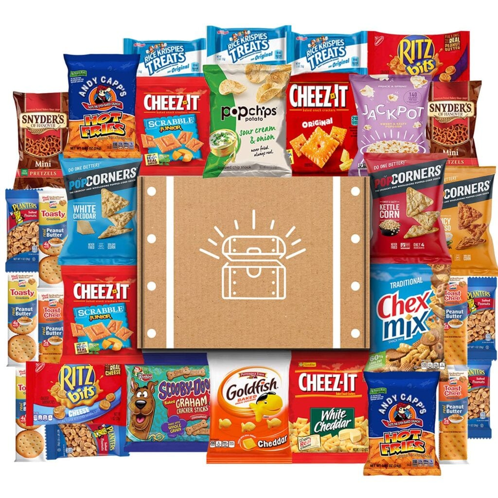 Ultimate Snack Pack   50+ Gifts for Dads Who Have Everything   Gift Ideas for Dad Under $50