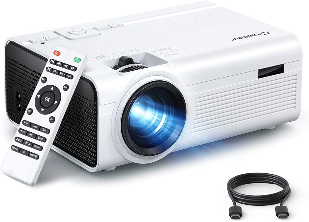 Mini Portable Projector   50+ Gifts for Dads Who Have Everything   Gift Ideas for Dad Under $100