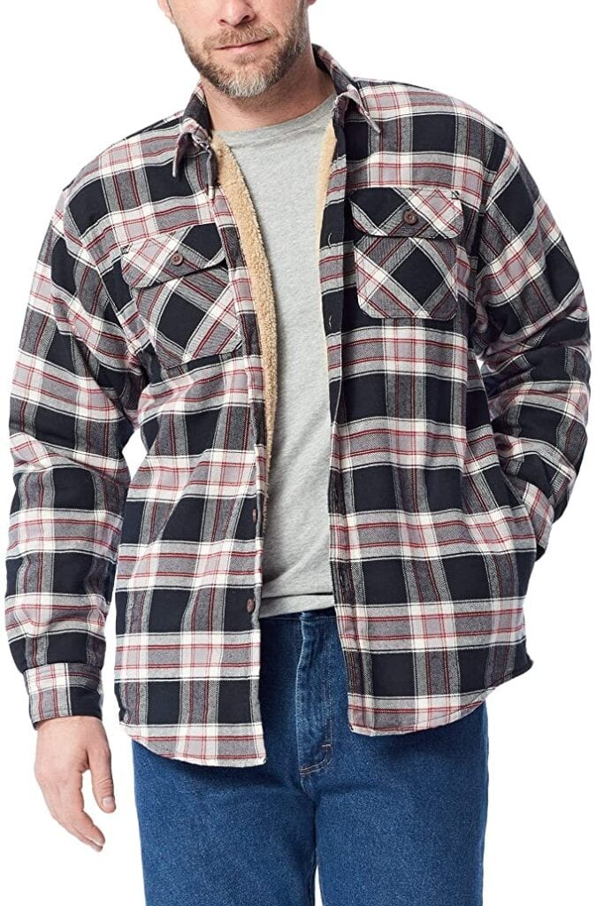 Wrangler Shirt Jacket   50+ Gifts for Dads Who Have Everything   Gift Ideas for Dad Under $25