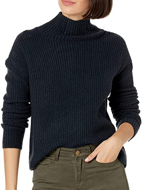 Funnel Neck Sweater   The Best Fall Sweaters Available on Prime Wardrobe
