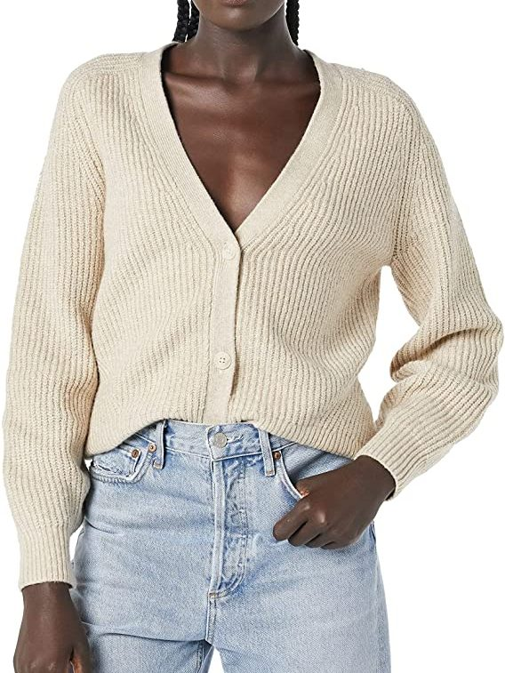 Button Up Cardigan   The Best Fall Sweaters Available on Prime Wardrobe