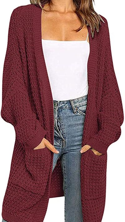 Chunky Knit Cardigan   The Best Fall Sweaters Available on Prime Wardrobe