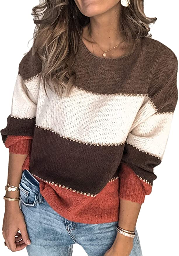 Pullover Knit Sweater   The Best Fall Sweaters Available on Prime Wardrobe