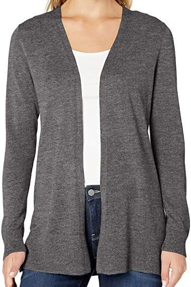 Classic Open Front Cardigan   The Best Fall Sweaters Available on Prime Wardrobe