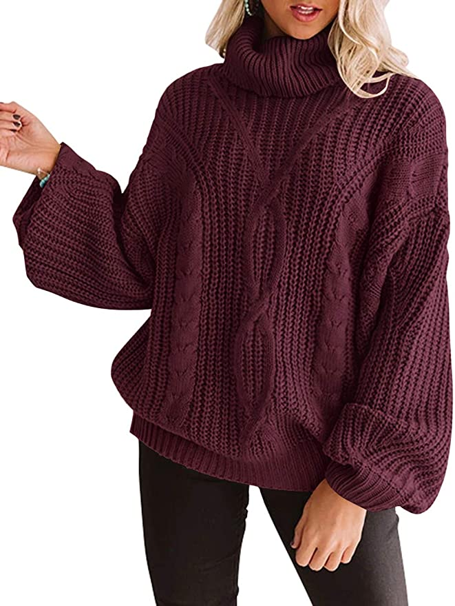 Oversized Chunky Knit Sweater   The Best Fall Sweaters Available on Prime Wardrobe