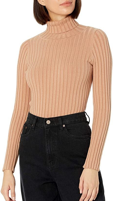 Ribbed Turtleneck Sweater   The Best Fall Sweaters Available on Prime Wardrobe