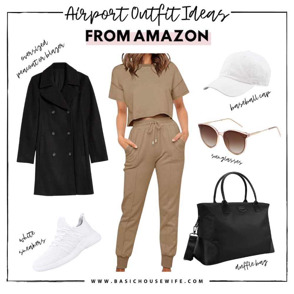 Cute & Comfy Airport Outfit Ideas | Travel Outfit Ideas | Travel Outfits | Airport Fashion