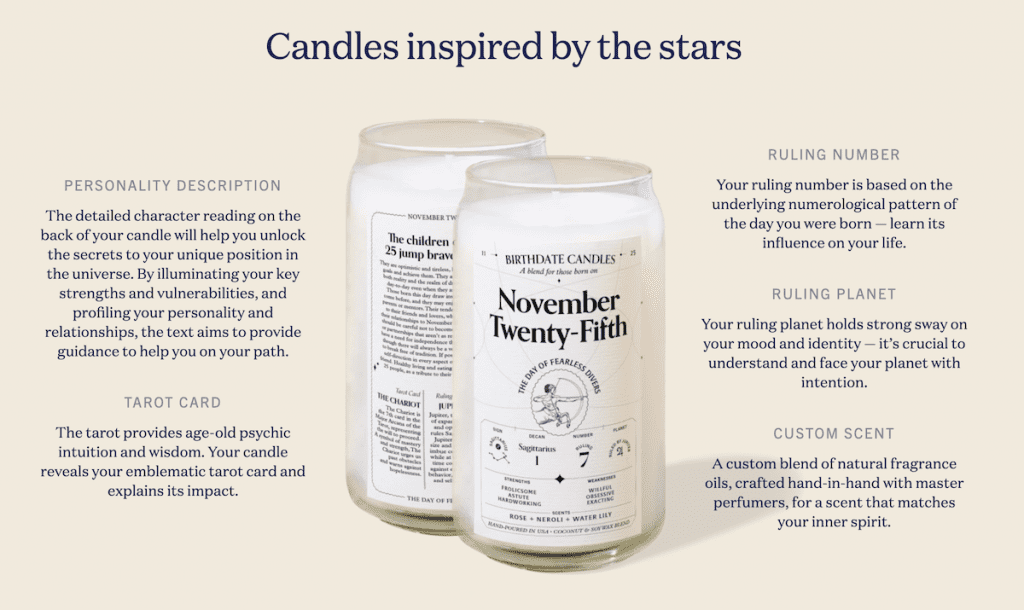 The Best Birthday Candles for Zodiac Lovers | Birthdate Co Review | Basic Housewife