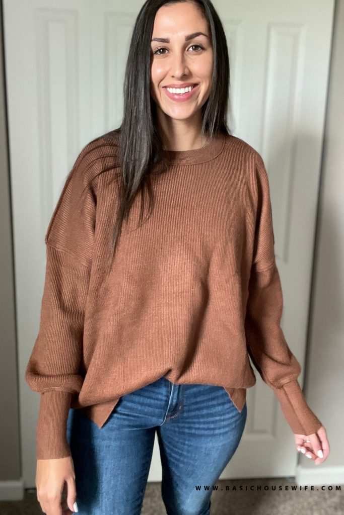Oversized sweater for fall   Prime Wardrobe HAUL: 7 Amazon Sweaters To Get This Fall